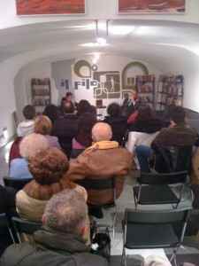 Intervista presentazione romanzo Apologia del piano B Properzi alla libreria Il FIlo