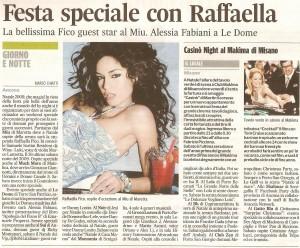Corriere Adriatico 24 dic 09 presentazione a Le Dome del romanzo Apologia del piano B di Emanuele Properzi