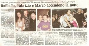 Corriere Adriatico 18 gennaio 2010 il romanzo Apologia del Piano B al caffè 900