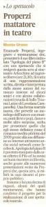 Corriere Adriatico 21 aprile 2010