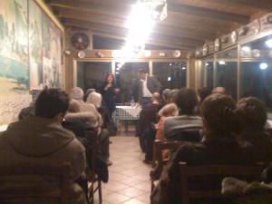 Presentazione romanzo Apologia del piano B Properzi all'Osteria