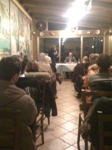 Presentazione romanzo Apologia del piano B Properzi all'Osteria con Valentina Capecci