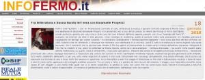 infofermo online 18 gennaio 2010 il romanzo Apologia del Piano B dello scrittore Emanuele Properzi