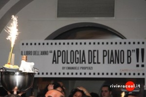 Presentazione romanzo Apologia del piano B Properzi Caffè 900