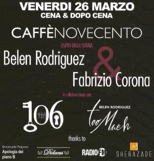 Apologia del Piano B e Belen Rodriguez al Caffè 900