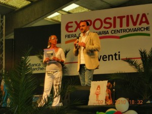 Manuela e Emanuele Properzi a Expositiva