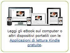 Ebook su altri dispositivi che non siano Kindle